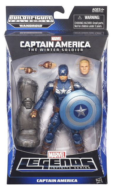 CAPTAIN AMERICA 6In INFINITE LEGENDS CAPTAIN AMERICA In Pack A6219
