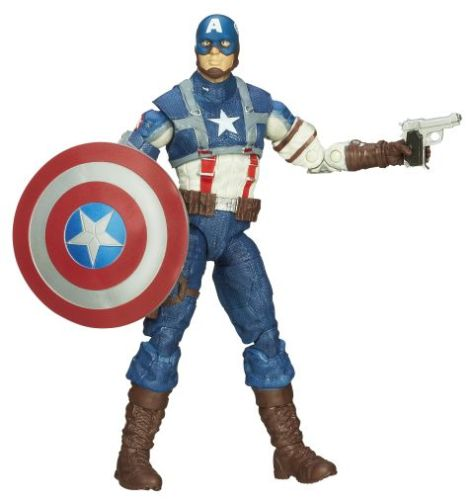 hasbro, action figures, marvel legends series, captain america infinite legends