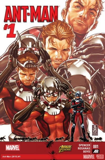 Comic - Ant-Man 1 - 2015