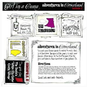 """Adventures In Coverland"" Vol. 1 by Girl In A Coma"