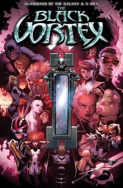 Comic - GOTG - XMen The Black Vortex Alpha 1