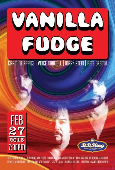 Poster - Vanilla Fudge - 2015