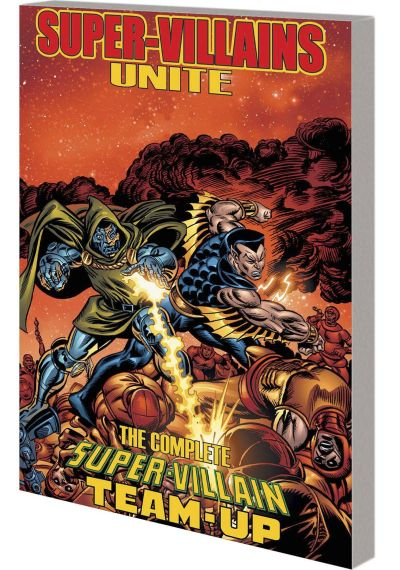 Book - Super Villains Unite - SVTU - 2015