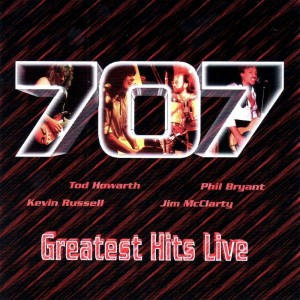 """Greatest Hits Live"" by 707"
