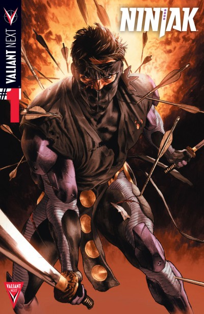 Comic - Ninjak 1 - 2015