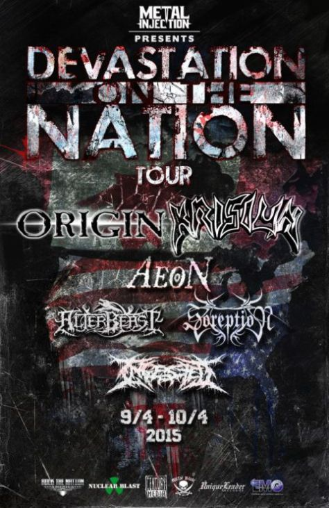 Tour - Origin and Krisiun - 2015
