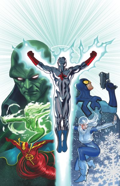 Convergence - Justice League International #1