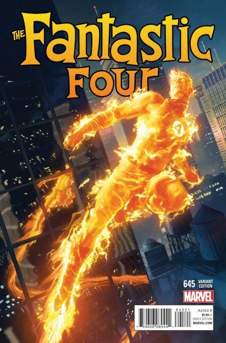 Comic - Fantastic Four 645 - 2015 v1