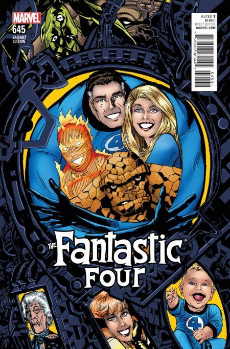 Comic - Fantastic Four 645 - 2015 v2