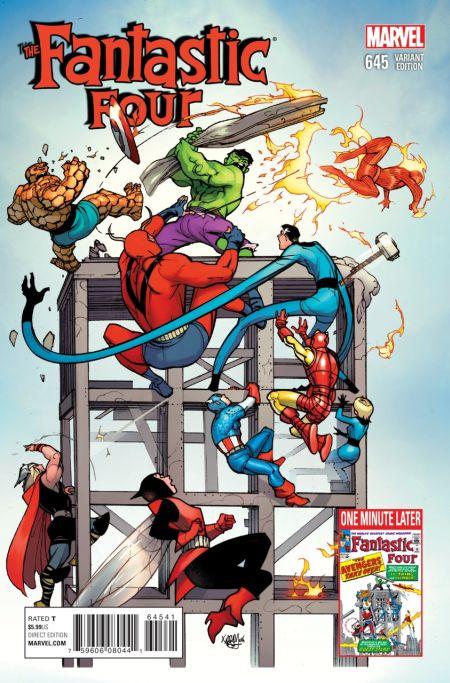 Comic - Fantastic Four 645 - 2015 v3