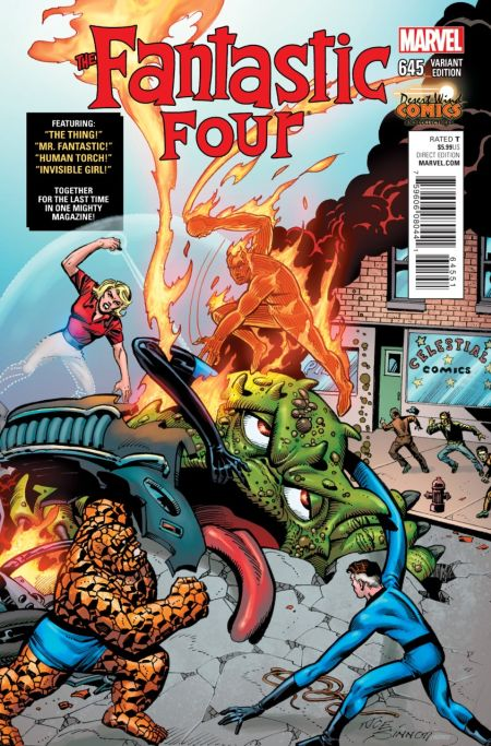 Comic - Fantastic Four 645 - 2015 v4