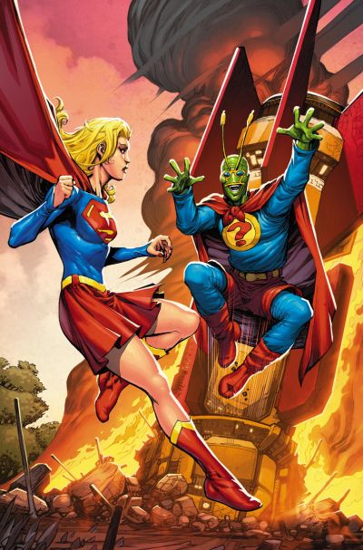 """Convergence: Supergirl/Matrix"" #2"