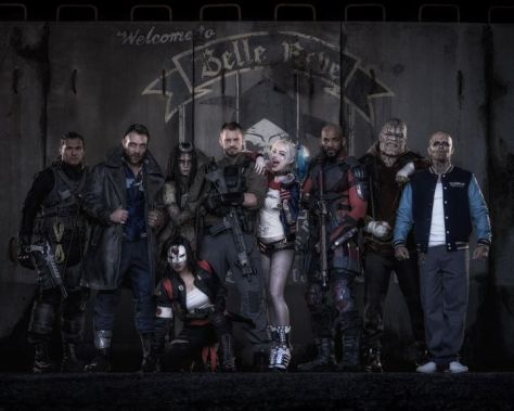 Photo - Suicide Squad Film Team - 2016