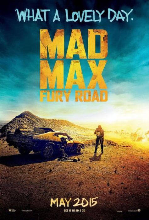 Poster - Mad Max Fury Road - 2015