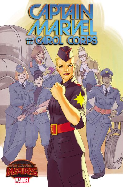 """Captain Marvel and The Carol Corps"" #1"