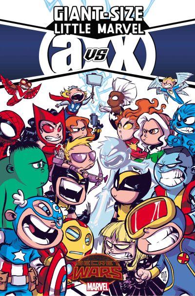 """""""Giant-Size Little Marvels: AVX"""" #1"""
