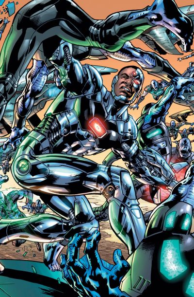 """Justice League Of America"" #1 (Cyborg Variant)"