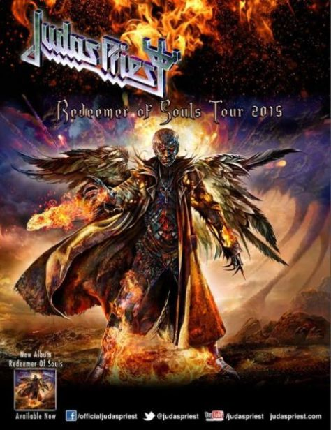 Tour - Judas Priest - NA 2015