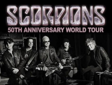 Photo - Scorpions - 50th Anniversary