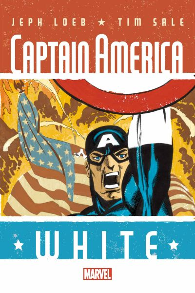 Comic - Captain America White 1 - 2015