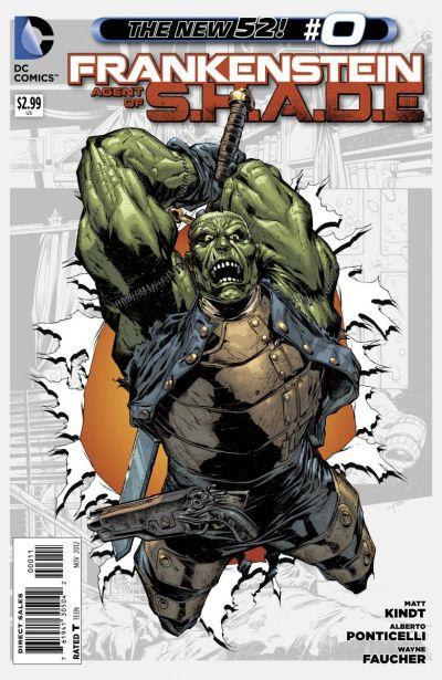 Comic - Frankenstein Agent of SHADE 0 - 2012