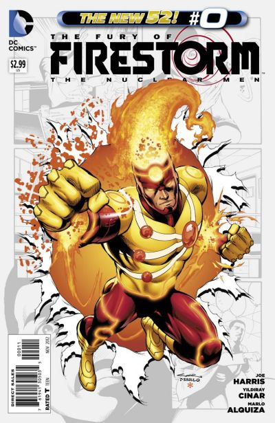 Comic - Fury Of Firestorm The Nuclear Men 0 - 2012