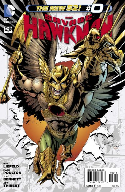 Comic - Savage Hawkman 0 - 2012