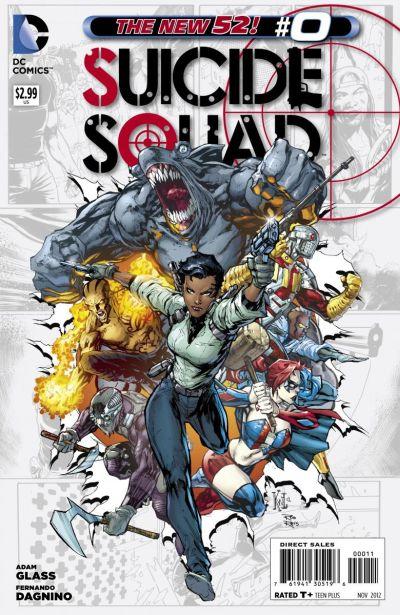 Comic - Suicide Squad 0 - 2012