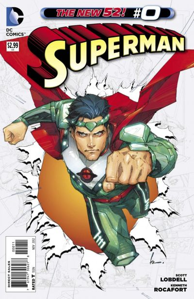 Comic - Superman 0 - 2012