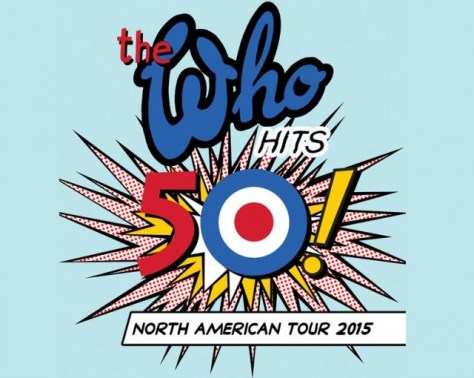 Logo - The Who - Hits 50 Tour
