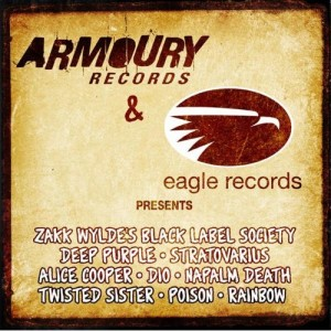 """""""Armoury Records/Eagle Records 2009 Sampler"""" by Various Artists"""