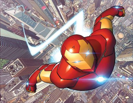 """Invincible Iron Man"" #1"
