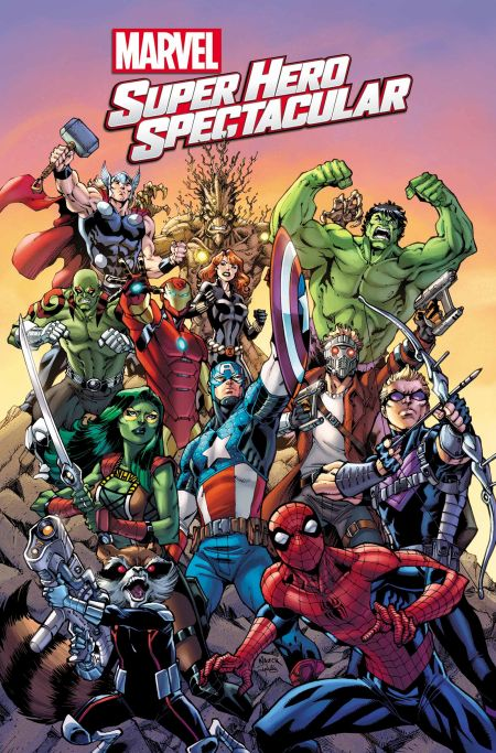 """Marvel Super Hero Spectacular"" #1"