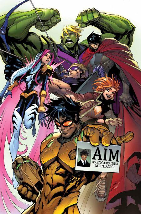 """""""New Avengers"""" #1"""