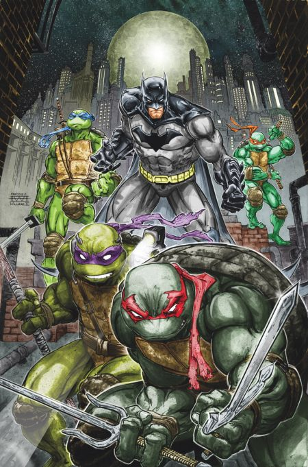 Comic - Batman and TMNT 1 - 2015