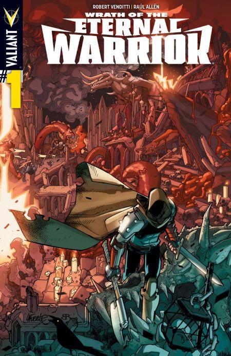 Comic - Wrath Of The Eternal Warrior 1 - 2015