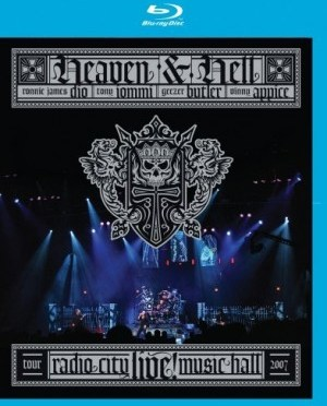 """Live At Radio City Music Hall"" [Blu-ray] by Heaven & Hell"