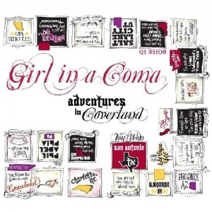 """Adventures In Coverland"" by Girl In A Coma"