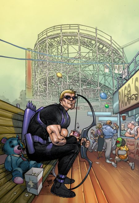 Comic - All-New Hawkeye 3 - NYC 2015