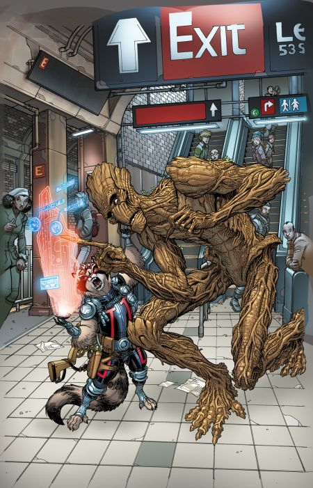 Comic - Guardians of the Galaxy 27 - NYC 2015