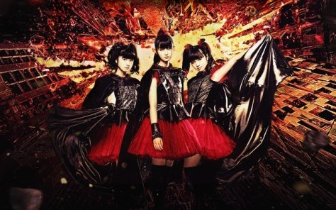 (L-R): YUIMETAL, SU-METAL and MOAMETAL / Credit: Amuse, Inc.