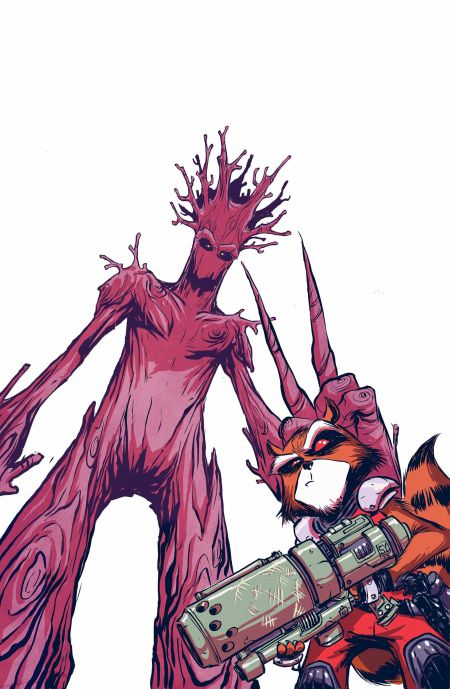 """Rocket Raccoon and Groot"" #1"