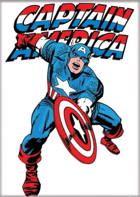 Photo - Captain America by Jack Kirby