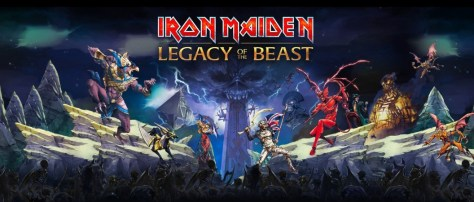 Photo - Iron Maiden Legacy Of The Beast
