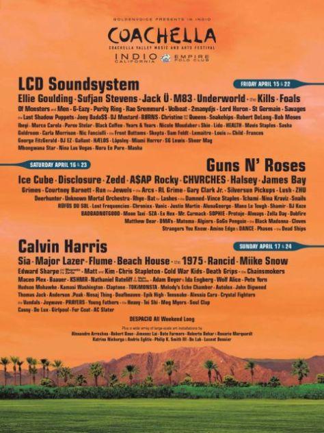 Poster - Coachella 2016