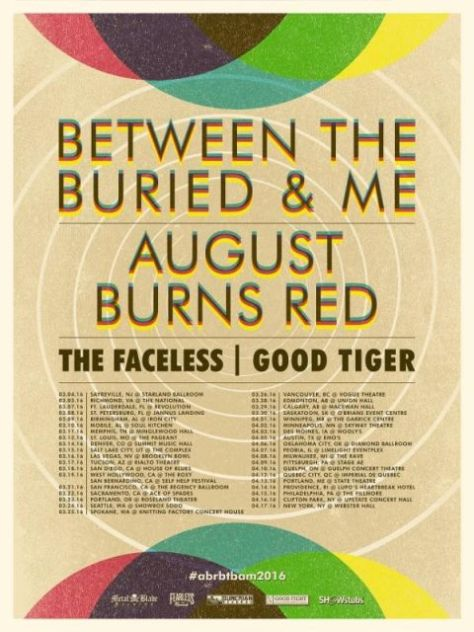 Tour - BTBAM - Winter 2016
