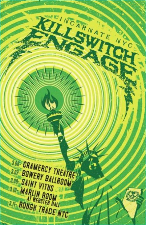 Tour - Killswitch Engage - NYC Residency 2016