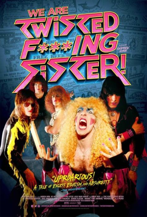 Poster - Twisted Sister - We Are Twisted F--king Sister - 2016