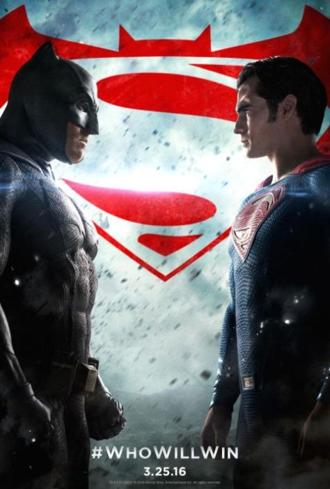Poster - Batman V Superman Dawn Of Justice - 2016