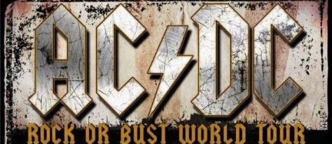 Banner - ACDC - Rock Or Bust Tour - 2016